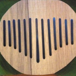 Set of 13 reeds for very large kalimbas.