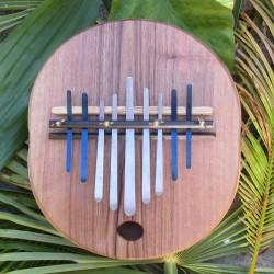 Kalimba basse électro-acoustique - Noyer