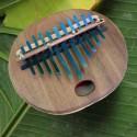 grande kalimba plate électro-acoustique